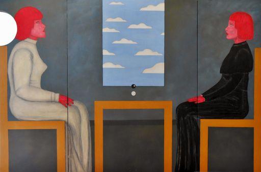 Christian SATIN - Painting - Blackballed    (Cat N° 6168)