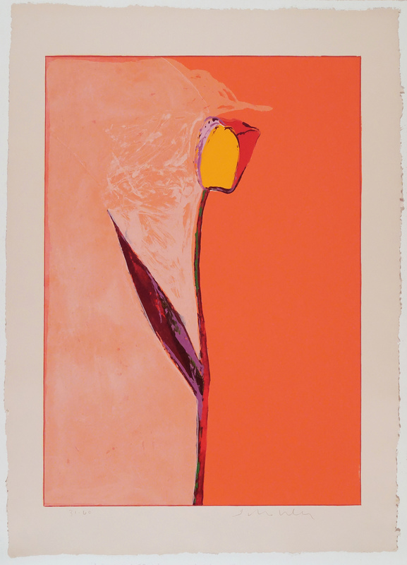 Fritz William SCHOLDER - Print-Multiple - Tulip (lithograph)