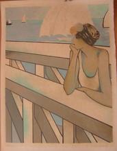 让-皮埃尔•卡西尼尔 - 版画 - LE GRAND LARGE 1977  CATALOGUE 140