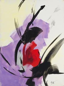 Jean MIOTTE - Painting - Seul avec toi