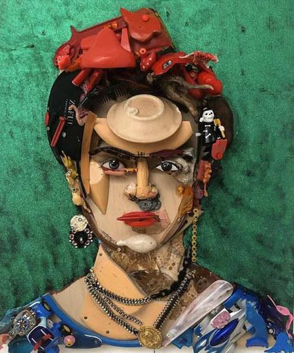 Bernard PRAS - Sculpture-Volume - Frida