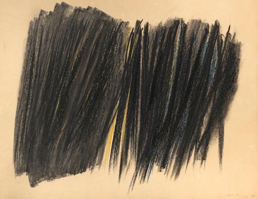 Hans HARTUNG - Disegno Acquarello - P1960-47