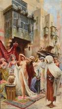 Fabio FABBI - Painting - Tha slave market