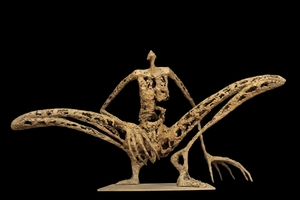 Pascale MARCHESINI ARNAL - Sculpture-Volume - L'homme sauterelle - 3