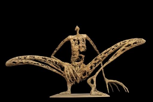 Pascale MARCHESINI ARNAL - 雕塑 - L'homme sauterelle - 3