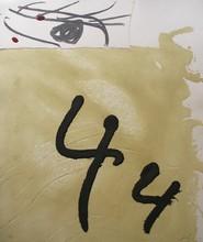 安东尼•塔皮埃斯 - 版画 - Aiguafort Amb Collage