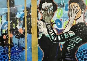 Marita TOBNER - Painting - An einem Tag wie jeder andere