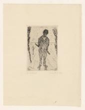 詹姆斯.恩索尔 - 版画 - Les sacripants