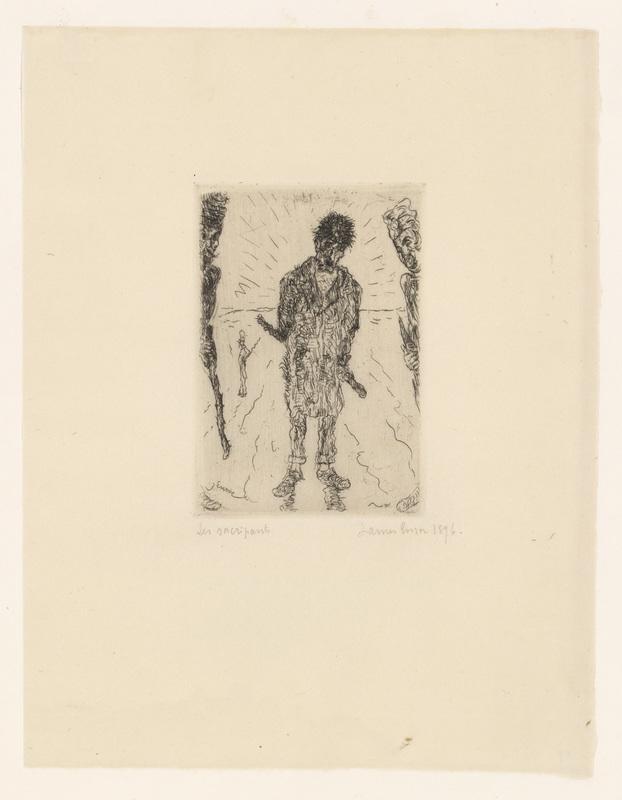James ENSOR - Print-Multiple - Les sacripants