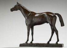 Jean-Léon GÉROME - Sculpture-Volume - Cheval Pur-Sang