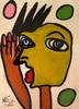 Peter Robert KEIL - Pintura - Berliner Stadtindianer