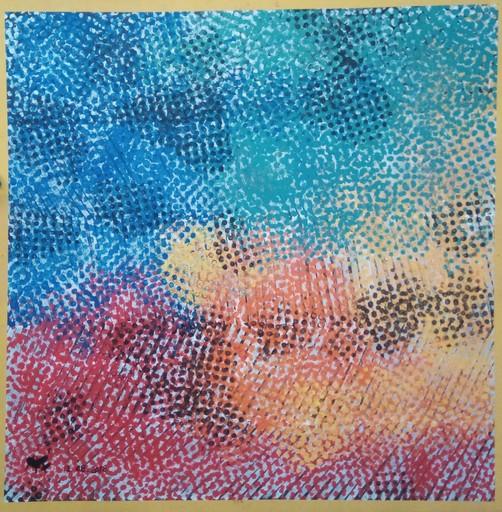 Harry BARTLETT FENNEY - Pittura - abstract 1