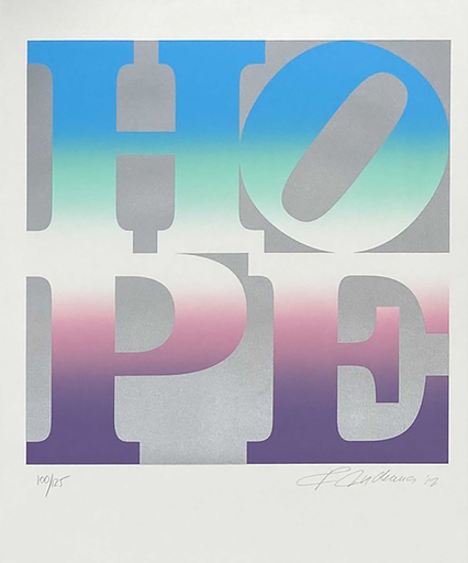Robert INDIANA - Grabado - Four Seasons of Hope