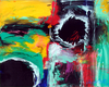 Lia GALLETTI - Painting - PLANET