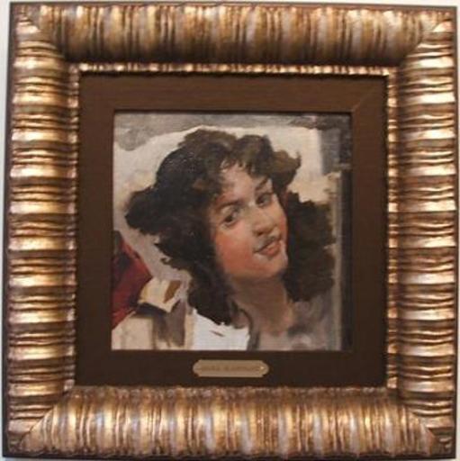 María BLANCHARD - Pintura - El Reposo
