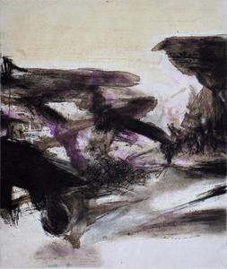 ZAO Wou-Ki - Grabado - Composition IV, from: Canto Pisan