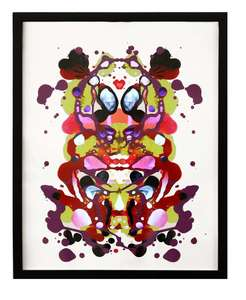 Tony OURSLER - Drawing-Watercolor - M·}age