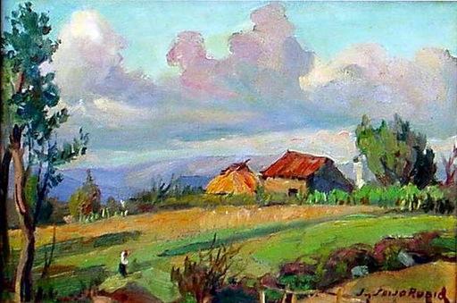 José SEIJO RUBIO - Pintura - paisaje gallego