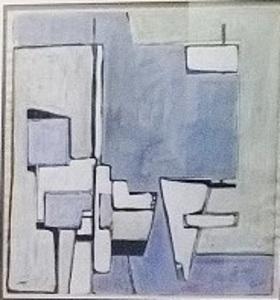 Geer VELDE VAN - Drawing-Watercolor