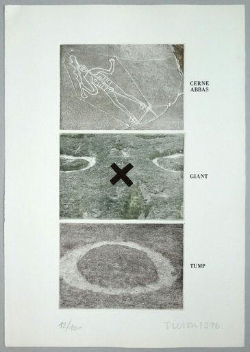 Joe TILSON - Print-Multiple - Cerne abbas