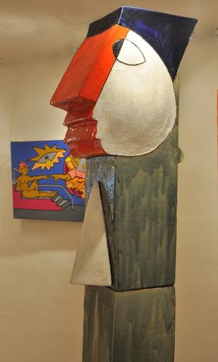 Jacky COVILLE - Sculpture-Volume - Grand Guetteur