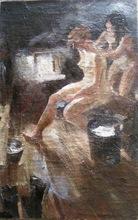 Abram Efimovich ARKHIPOV - Gemälde - BATH SCENE