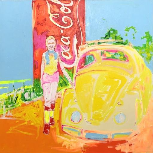 Nicole LEIDENFROST - Gemälde - Inge