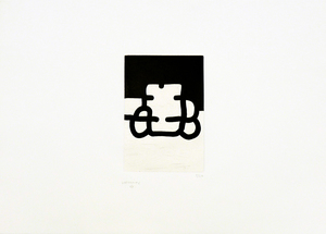 Eduardo CHILLIDA - Estampe-Multiple - Antzo VIII