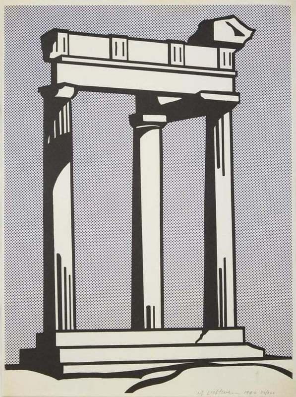Roy LICHTENSTEIN - Stampa-Multiplo - Temple