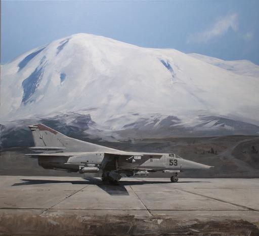 Alexey ALPATOV - Painting - MiG 27