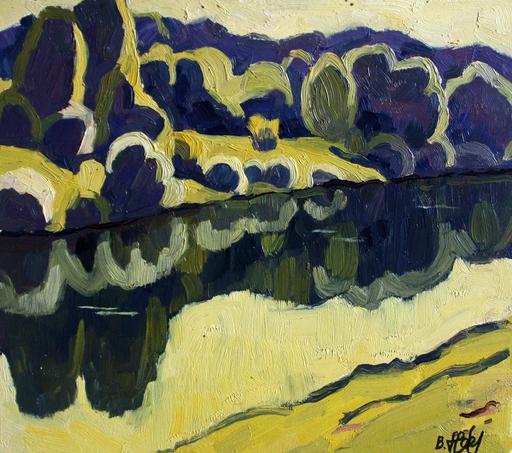 Valeriy NESTEROV - Gemälde - Pakhra river. Moscow district