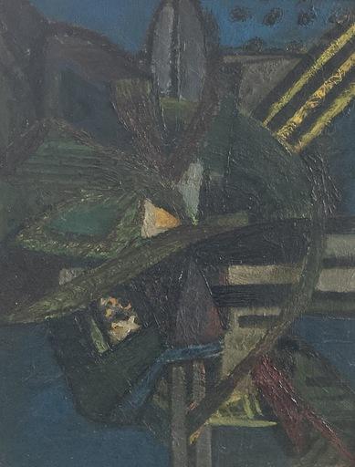 Jean PIAUBERT - Gemälde - Composition