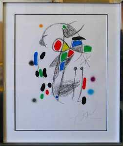 Joan MIRO - Print-Multiple - Maravillas con Variaciones Acrósticas en El Jardín de Miró