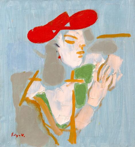 Vasile GRIGORE - Pintura - Red hat