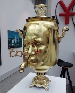 Vasily SLONOV - Sculpture-Volume - President-Samovar