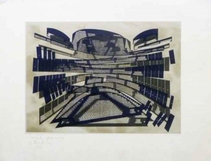 Guillermo David KUITCA - Estampe-Multiple - Obra Gráfica