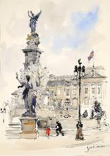 Jan KORTHALS (1916-1972) - Buckingham Palace in London