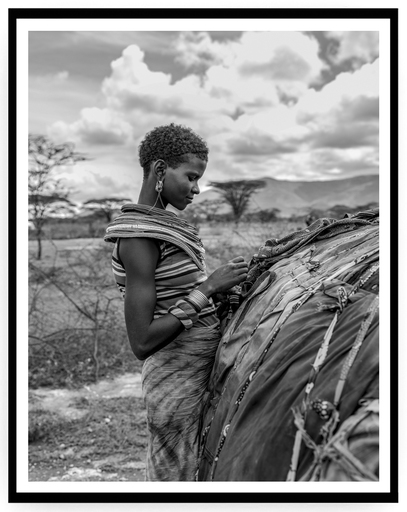 Mario MARINO - Photography - Portrait of a Woman, 2018, Africa.