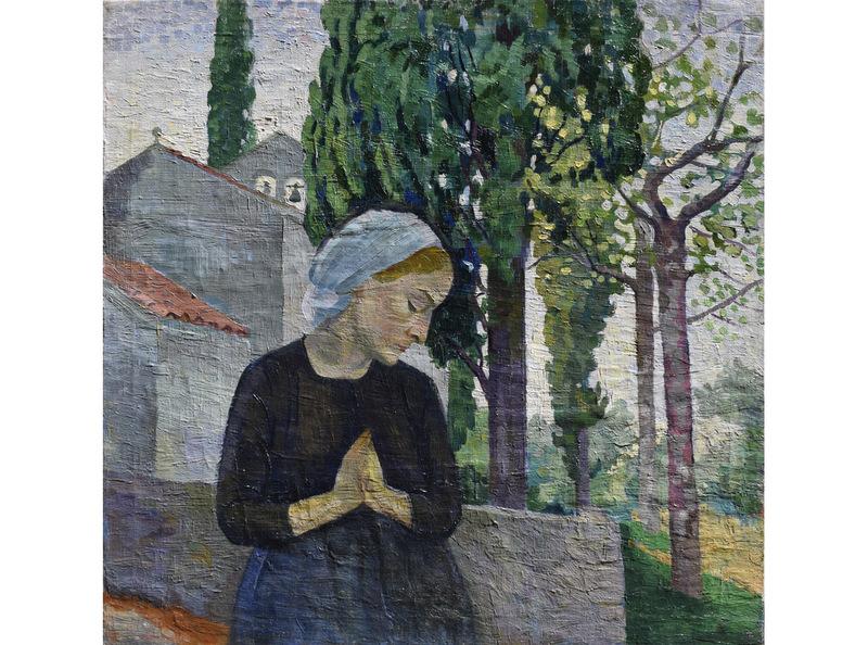 Pietro PERSICALLI - Pintura - in preghiera