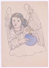 Bertold LÖFFLER - Dessin-Aquarelle - Vienna Art Nouveau, ca 1900
