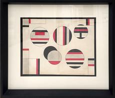 Sandu DARIE - Dibujo Acuarela - Abstract Composition