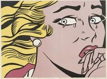 Roy LICHTENSTEIN (1923-1997) - Crying Girl