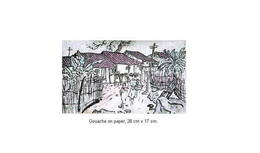 Xuan Phai BUI - Painting - Village Street 05_02a