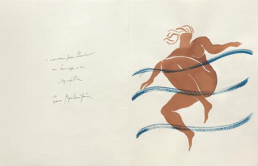 Pierre BONCOMPAIN - Drawing-Watercolor - Naïade