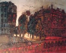Théo TOBIASSE (1927-2012) - Une Rue à Paris