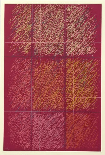 Kenneth NOLAND - Druckgrafik-Multiple - Roy