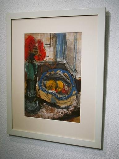 Heiner MALKOWSKY - Pintura - Stilleben mit Fruchtschale