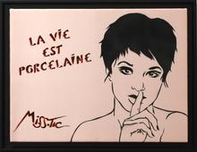 MISSTIC - Peinture - La Vie Est Porcelaine