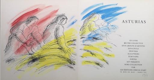 Manuel COLMEIRO - Pintura - Tres segadores