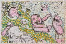 Enrico BAJ - Print-Multiple - La baignade